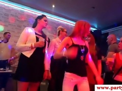 Real party amateur blowing off strippers