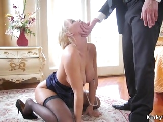 Big male pole butler butt fuck fucks housewife and young girl
